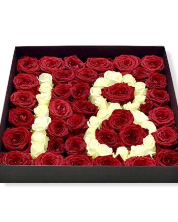Box personalizzato lettera o numero